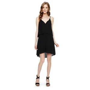 Splendid 2-Layer Dress in Black